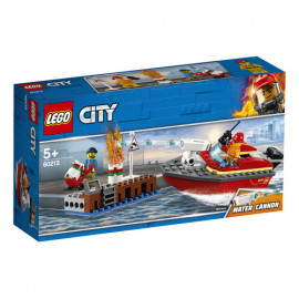 LEGO CITY: INCENDIO AL PORTO