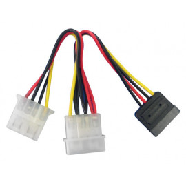 "Lindy SATA/5.25"" Power Adapter..."